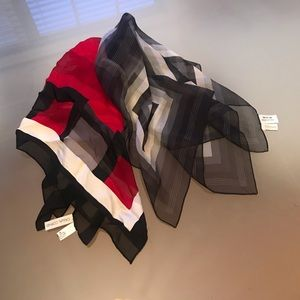 Casual corner silk neckerchiefs